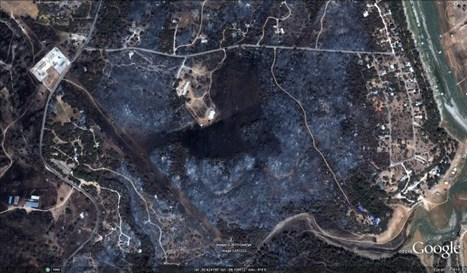 Imagery from the wildfires in Texas   Geospatial   Scoop.it