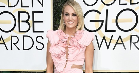 Carrie Underwood looks stunning as she rocks the Golden Globes red carpet | Country Music Today | Scoop.it