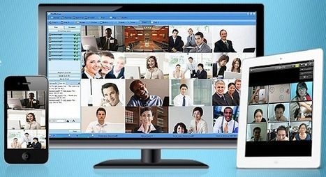 HD Video Conferencing for 16 and Full Collaboration with CUMeeting (Win) | herramientas colaborativas | Scoop.it
