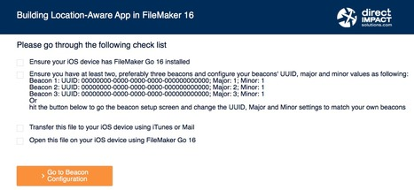 iBeacon' in Learning FileMaker | Scoop it