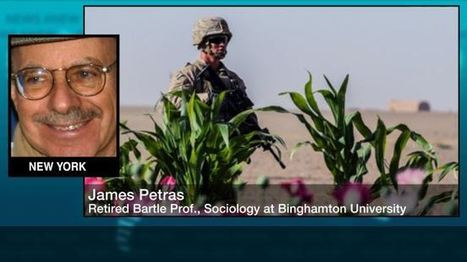 Growth of opium trade in Afghanistan direct result of US invasion: Petras | News in english | Scoop.it
