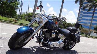 Harley Davidson Softail Fat Boy Flstfi In Har