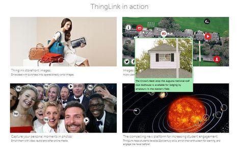 Cinco herramientas para crear imágenes interactivas | Teknologia Hezkuntzan | Scoop.it