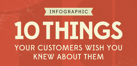 Do You Know Your Customers? Here Are 10 Things THEY Want You To Know About Them [Infographic] — socialmouths | Business Momentum | Scoop.it
