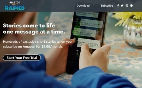 Amazon lanza Rapids, app de lectura de historias infantiles bajo el estilo de mensajería móvil | FOTOTECA INFANTIL | Scoop.it