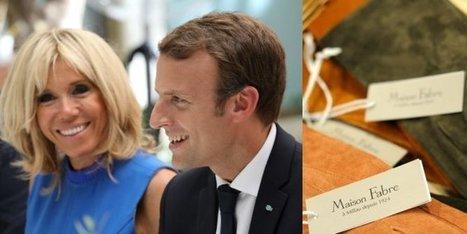 Millau   la ganterie Fabre équipe Emmanuel et Brigitte Macron pour l hiver 97ad38e59f2