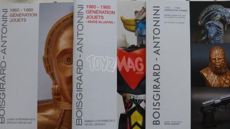 ToyzMag.com » Génération Cinéma – My Name is Bond : catalogue de la vente | Vente aux encheres: Mobilier design et Pop culture | Scoop.it