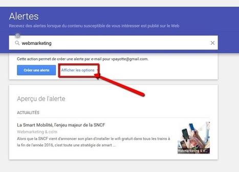 Configurer Google Alert pour animer vos réseaux sociaux | Cath PêleMêle Sur la planète Web | Scoop.it
