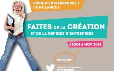 Jeudi 6 novembre 2014, RDV à la Faites de la Création et Reprise d'Entreprise à la CCI de Bordeaux ! #faitescreation | Groupe et Marques CCI de Bordeaux | Scoop.it