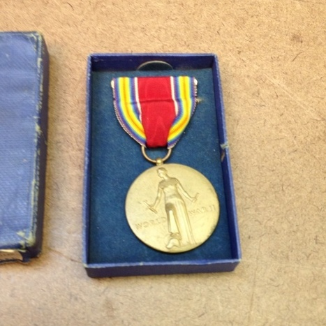 WW2 Medal From 1946 | Antiques & Vintage Collectibles | Scoop.it