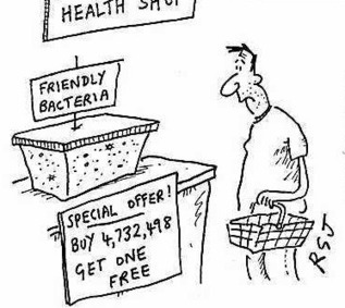 Small Humour: Friendly bacteria | FOOD TECHNOLOGY  NEWS | Scoop.it