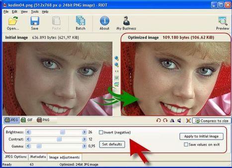 RIOT: excelente software gratuito para optimizar imágenes | cfdezmunin | Scoop.it