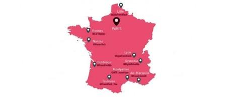Emploi et numérique : classement des 9 villes de la FrenchTech - Je bosse dans le web   Actualité du marketing digital   Scoop.it