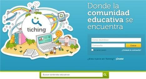 Tiching, una comunidad con mas de 85.000 recursos educativos para maestros y alumnos | Educación, e-learning, gamification para el desarrollo humano y el bien común | Scoop.it