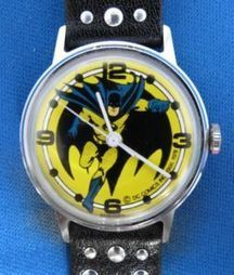 Super Rare Vintage Batman DC Comics 1978 Manual Wind Watch | Gorgeous Vintage I Crave! | Scoop.it