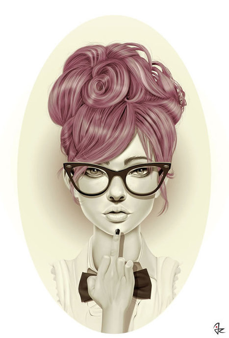 Beautiful Character Design by @giuliorossi83 | #Design | Scoop.it