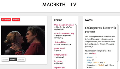 """Shakespeare goes social:"" how open video is revolutionizing learning 