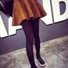 Winter Velvet Pleated Skirt