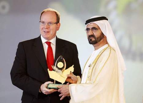 Environmental pioneers honoured with Zayed International Foundation for the Environment award | The National | Business as an Agent of World Benefit | Scoop.it