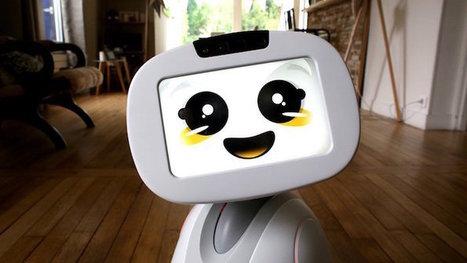 Le robot compagnon Buddy permet de piloter la maison connectée Somfy | Les robots domestiques | Scoop.it