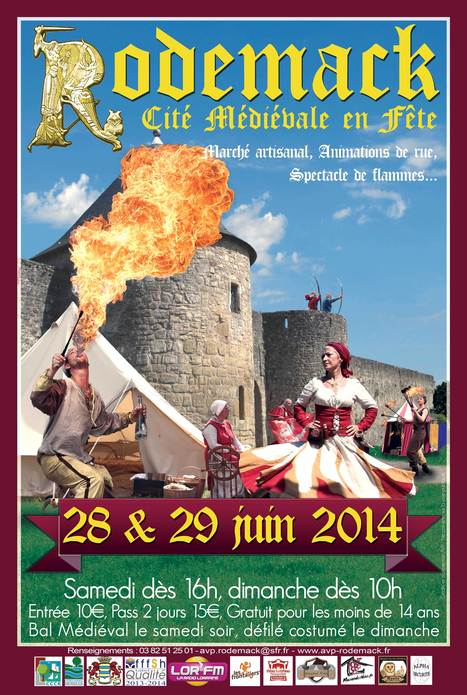 Fête Médiévale à RODEMACK (FR) | 2014 | Festivals Celtiques et fêtes médiévales | Scoop.it