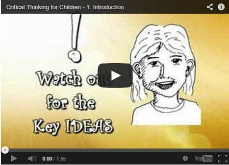 Critical Thinking: Ways to Improve Your Child's Mind | Writing, Research, Applied Thinking and Applied Theory: Solutions with Interesting Implications, Problem Solving, Teaching and Research driven solutions | Scoop.it