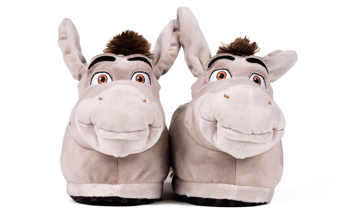 on feet at fantastic savings sold worldwide Animal slippers for kids, men and women: Happy ...