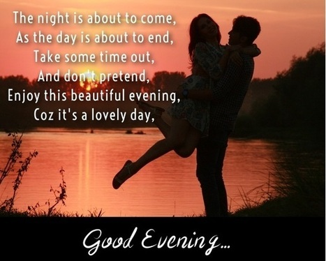 Good Evening Love Images Sms Messages Q
