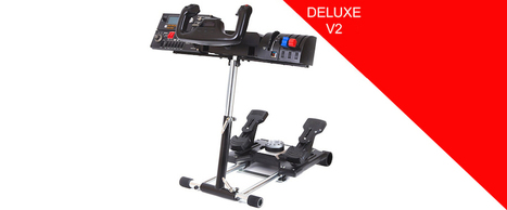 Review - Wheel Stand Pro Deluxe | Pacific flight-sim news | Scoop.it