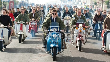 Vespa celebrates 70 years of sprezzatura | Vespa Stories | Scoop.it