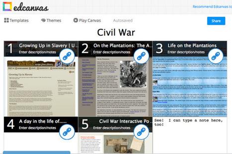 That Blog Belongs to Emily Brown!: Online Tools: Edcanvas | Edcanvas | Scoop.it