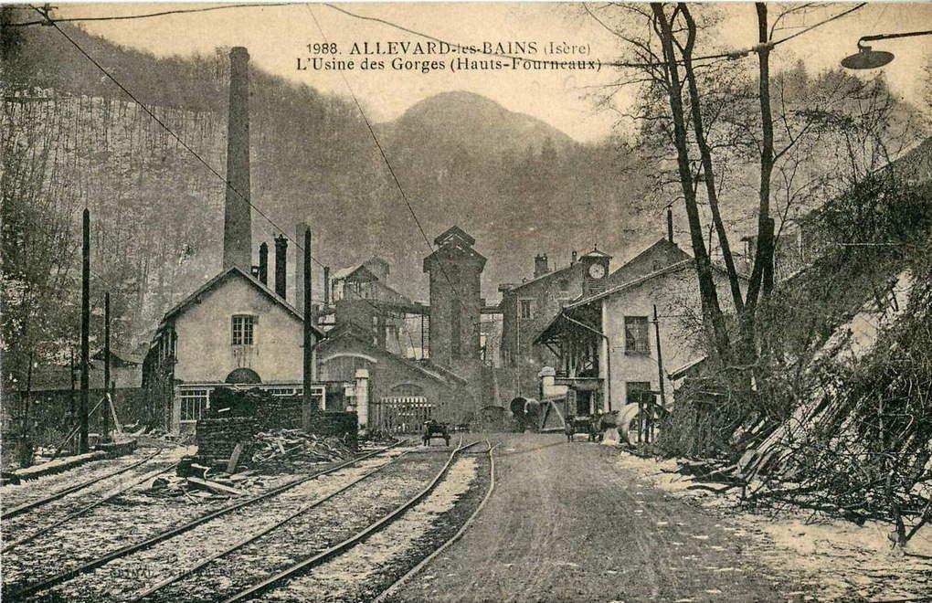 Les Hauts Fourneaux Et Forges D Allevard 1914