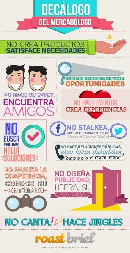Decálogo del Profesional de Marketing [Infografía] | Social Media  & Community Management | Scoop.it