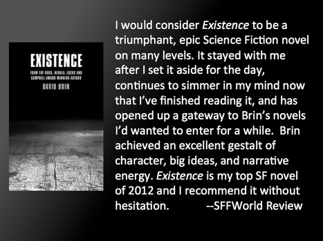 Existence -- Official SFFWorld.com review   Existence   Scoop.it