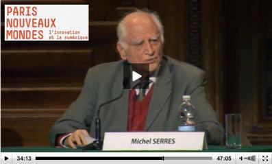 Michel Serres: l'innovation et le numérique - C... | STRATOGINA | Scoop.it