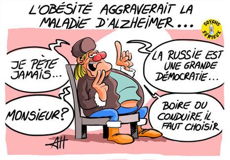 L'obésité aggraverait la maladie d'Alzheimer | Baie d'humour | Scoop.it