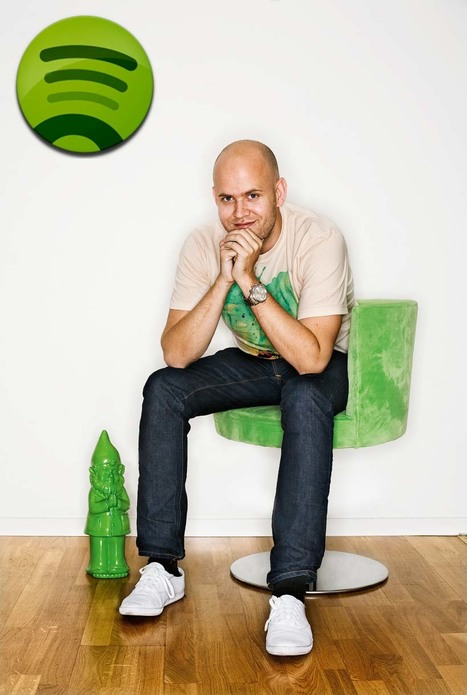 Spotify's Daniel Ek wants to turn you on to new music | Show Up Public | Scoop.it