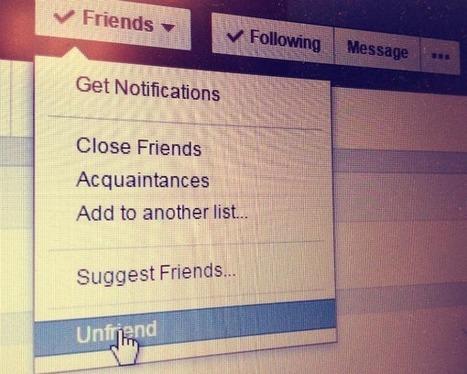 Melacak yang ''unfriend'' Anda dari Facebook | Social Media Epic | Scoop.it
