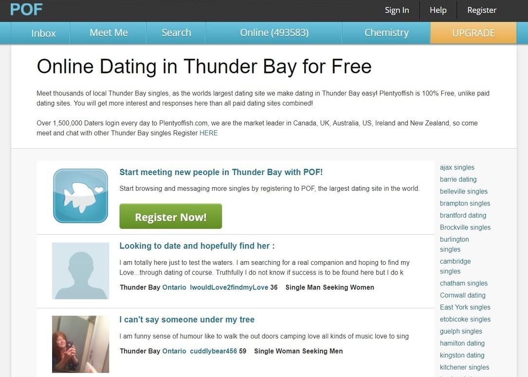 dating online cambridge ontario)