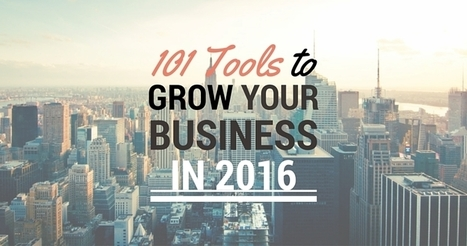 101 Tools to Grow Your Business in 2016 | SEJ | Social Media Power | Scoop.it