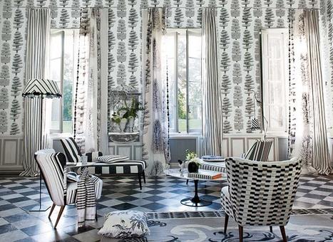 tissu designers guild\' in Tissu d\'ameublement, art textile et papier ...