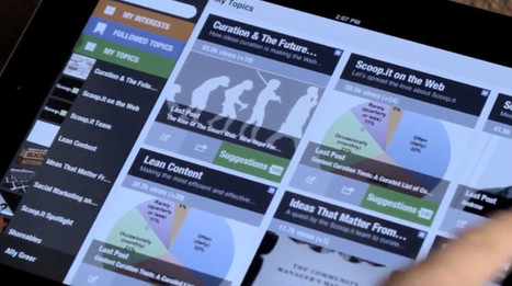 Scoop.it lance son application iPad | Outils d'analyse du Social Media | Scoop.it