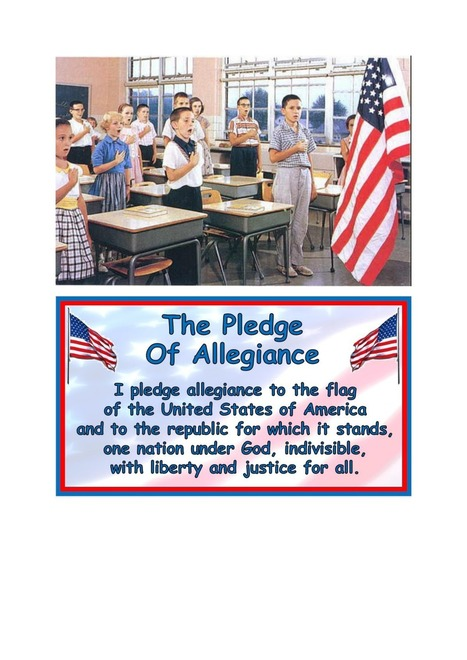 The Pledge of Allegiance | ESL links for my students | Scoop.it