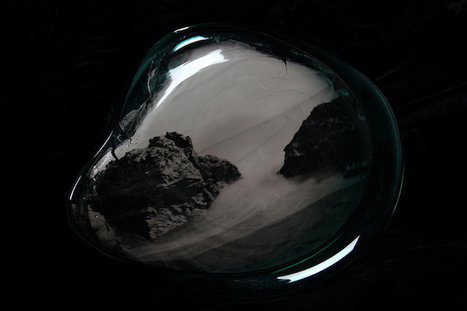 Beautiful Landscape Photographs Exposed Onto Handblown Glass Vessels | MediaMentor | Scoop.it