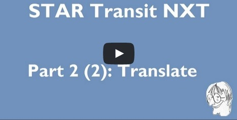 Transit NXT – Translating with imported resources (video) (by Dominique Pivard) | Translator Tools | Scoop.it