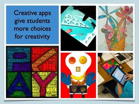 Using iPads in the Art Room | Teaching, Sharing | Scoop.it