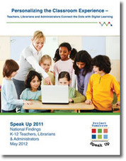 Speak Up Reports - Personalizing the Classroom Experience | School Library Advocacy | Scoop.it