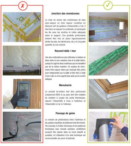 Étanchéité à l'air : L'importance de la mise en œuvre   La Réglementation Thermique 2012   Scoop.it