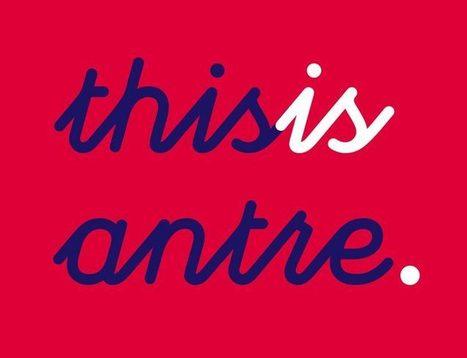 Typographie : Elle est gratuite et elle s'appelle « Antre » | Web Increase | Scoop.it