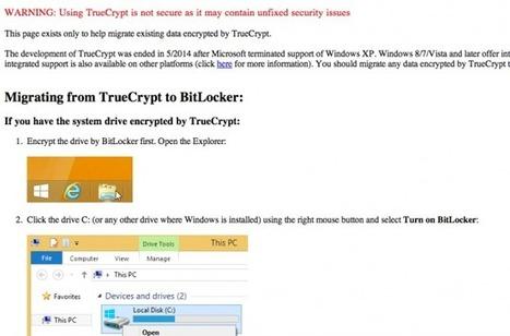#TrueCrypt - Mais que se passe-t-il exactement ? | #Security #InfoSec #CyberSecurity #Sécurité #CyberSécurité #CyberDefence & #DevOps #DevSecOps | Scoop.it